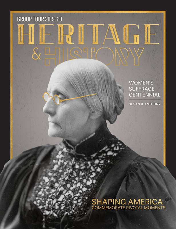 Heritage & History Group Tour Guide 2020 cover